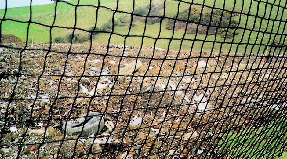 Heavy Duty Anti Litter Netting