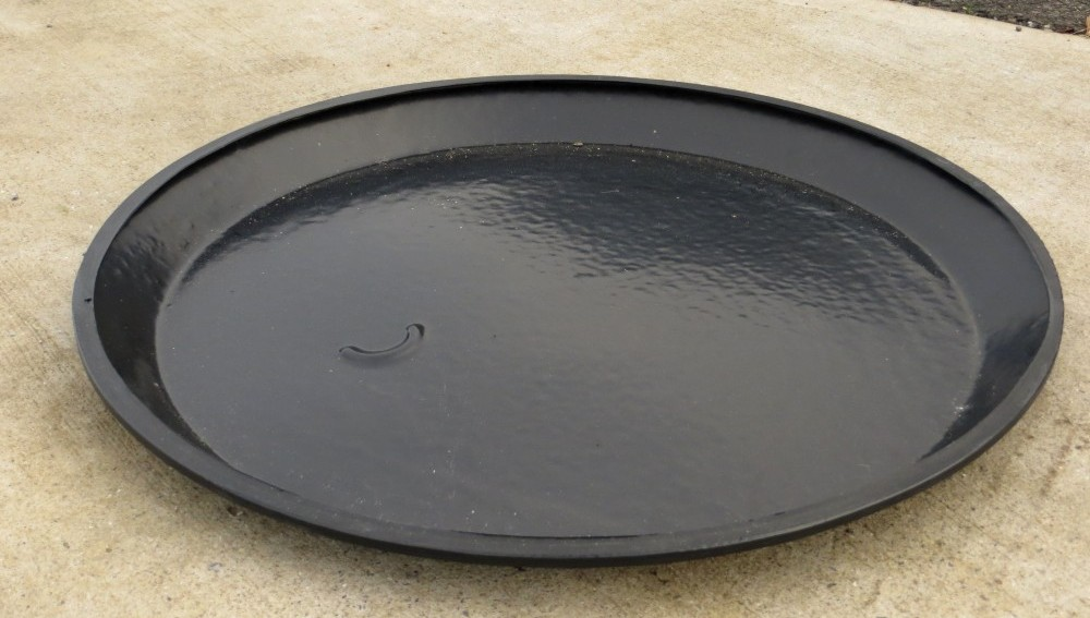 Outdoor 45 Gallon Feed Bin Rain Hat