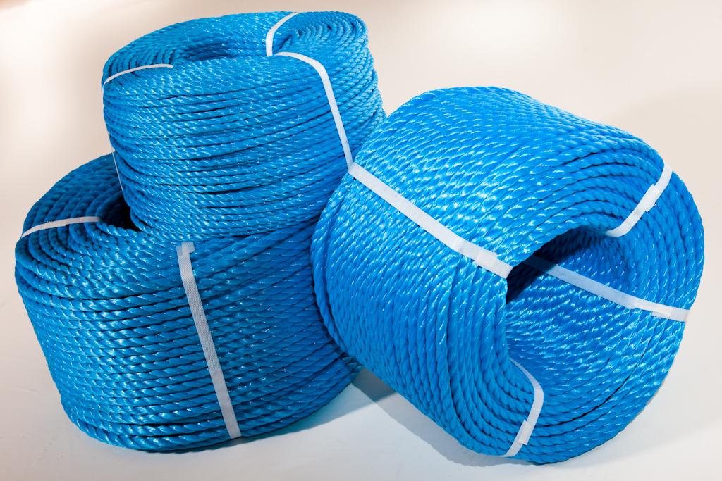Blue Polypropylene Rope
