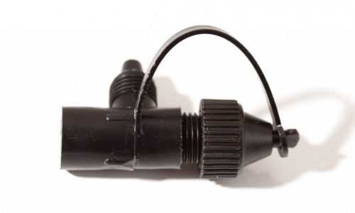 Side Outlet to Compression with Blanking Cap