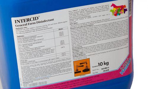 Intercid disinfectant