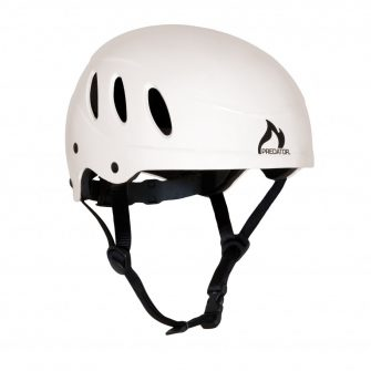 Predator Centre Side Cut Helmet – White
