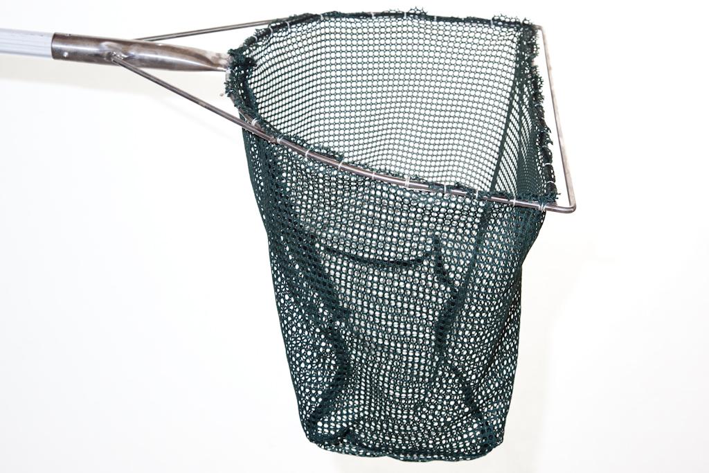 """DIP NET - 23½"""" 'D' Shape Frame - Green Golf Mesh"""