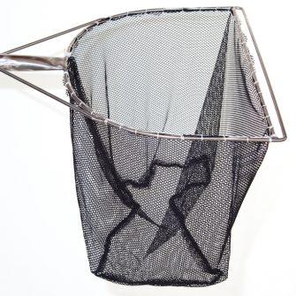 """23½"""" 'D' Shape Frame Dip Net – Black Fryma Mesh"""