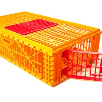 Poultry Transport Crate. Game carrying cage.