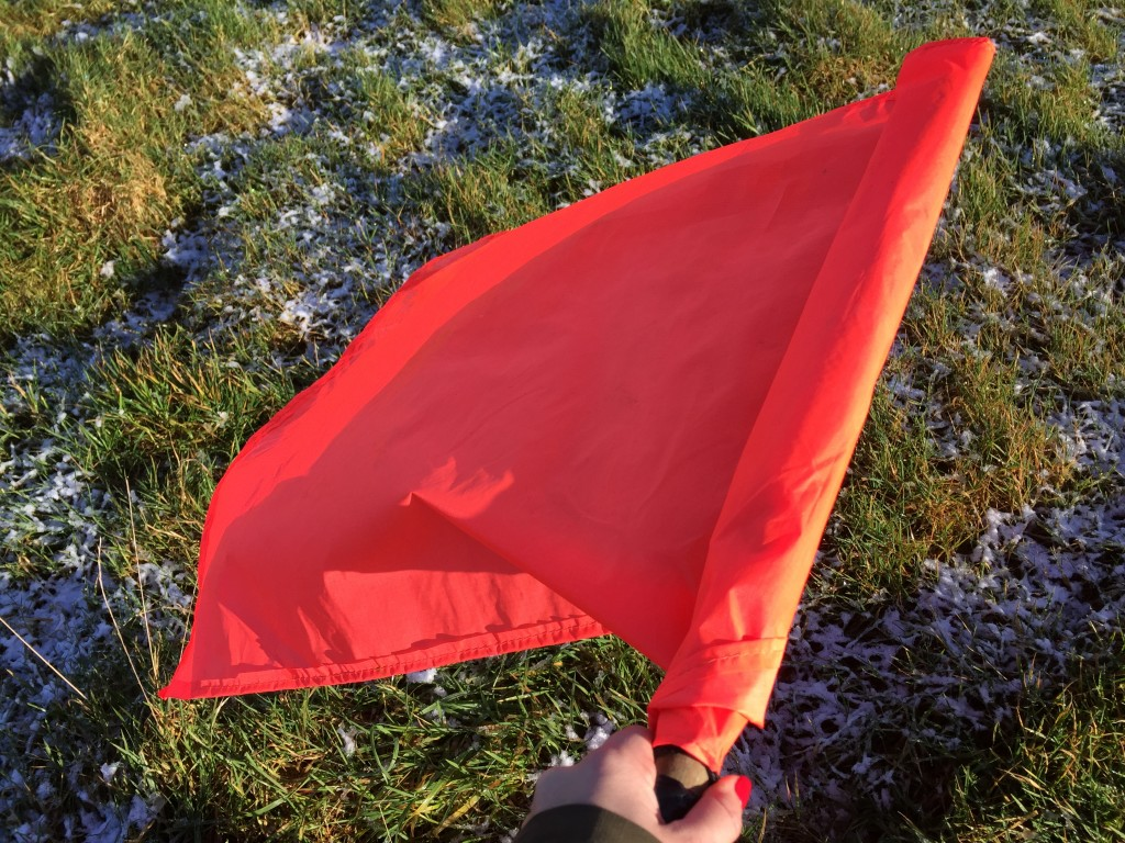 Orange Beaters Flag Frost