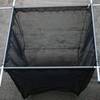 Machined Fish Cage – Black Micromesh