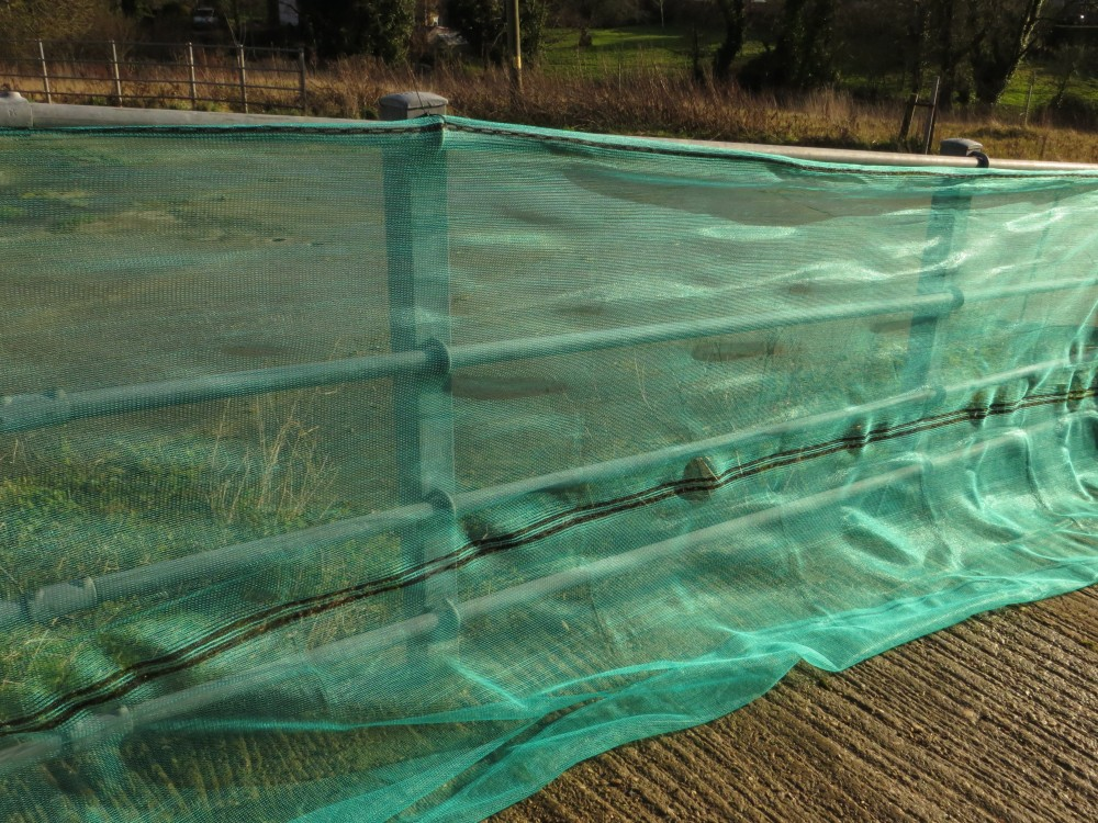 Debris Netting 2 Mtrs Or 3 Mtrs X 50 Mtrs Green Or