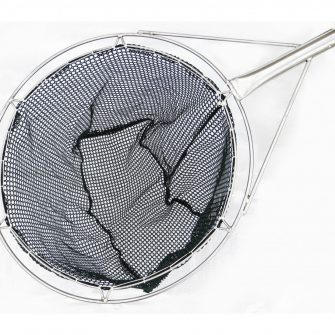 "23½"" Round Frame Dip Net – Green Golf Mesh"