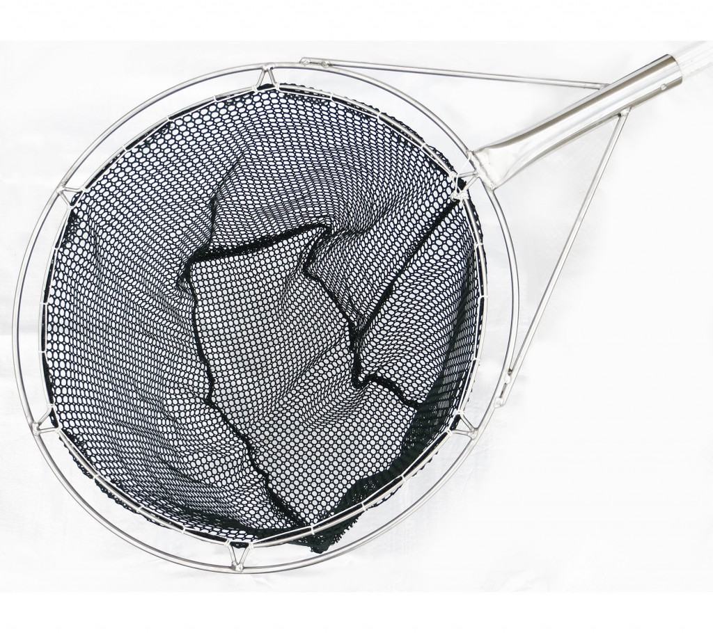 23 round frame dip net green golf mesh collins nets ltd for Dip nets for fishing
