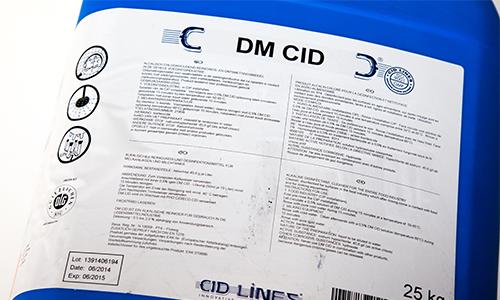 DM CID Egg Wash