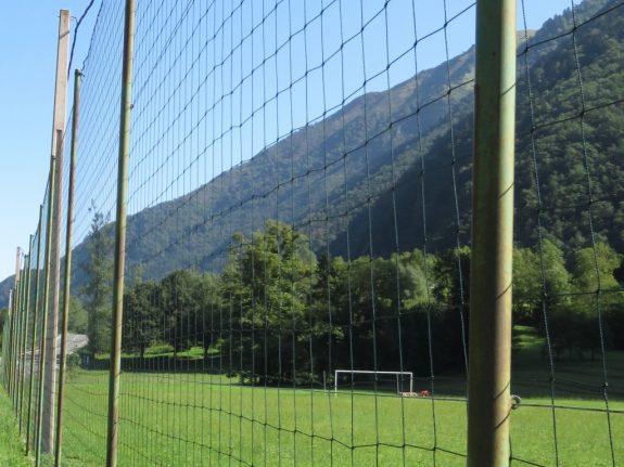 Football Perimeter Netting