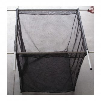 Machined Fish Cage - Black Fryma Mesh