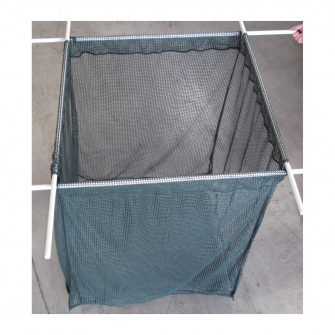 Machined Fish Cage – Green Golf Mesh