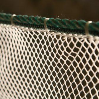 Leadline knotless netting