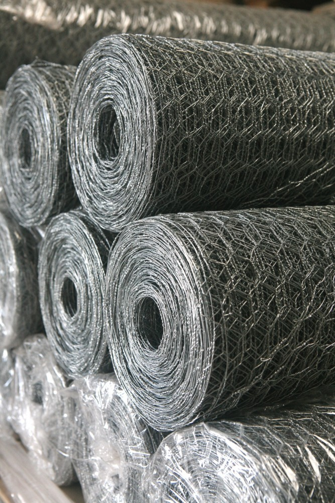 Galvanised Wire Netting & Stock Fencing