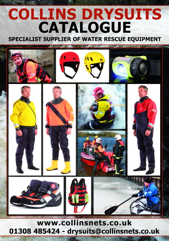 Collins Drysuit and Water Rescue Catalogue