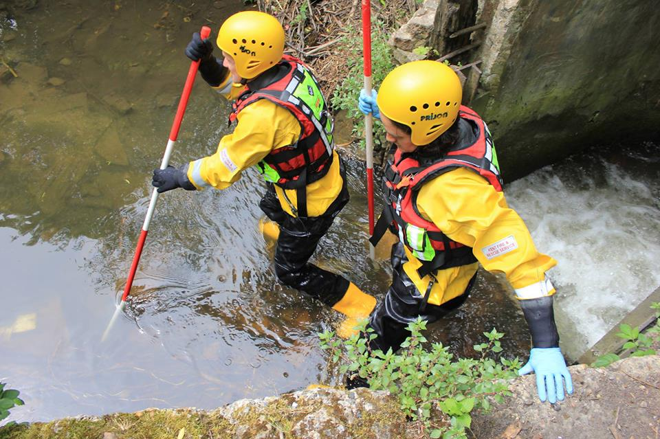 Collins Drysuit and Water Rescue