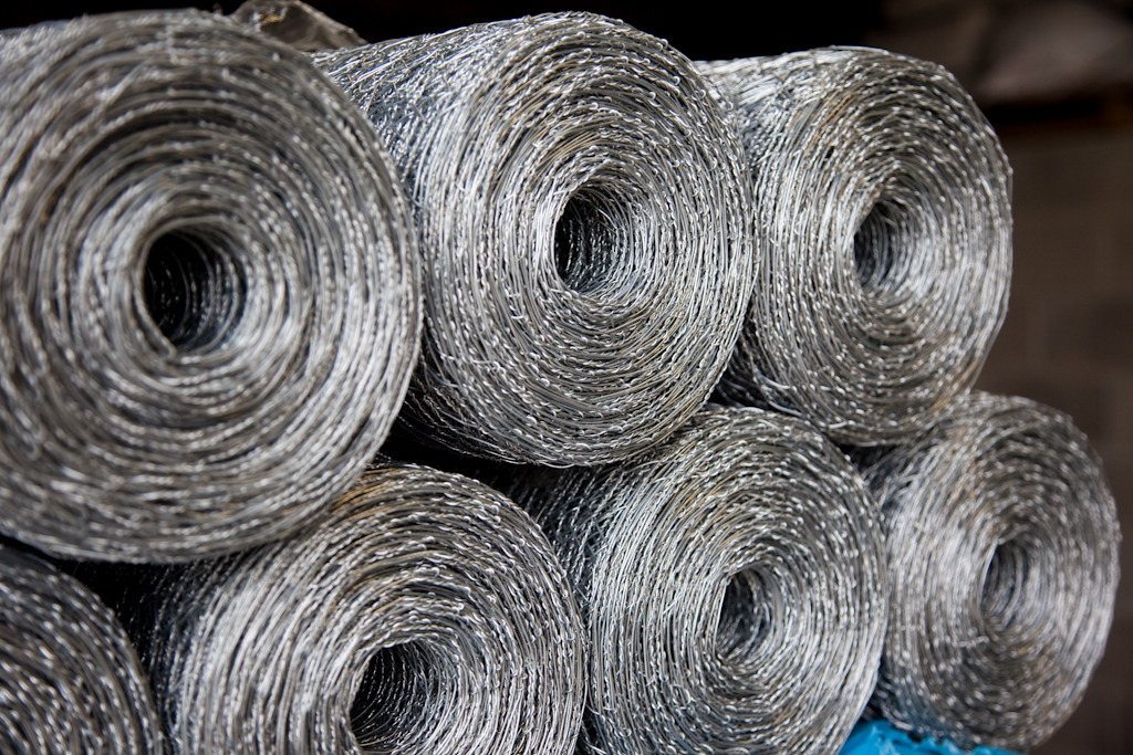 Galvanised Wire Netting & Wire Fencing