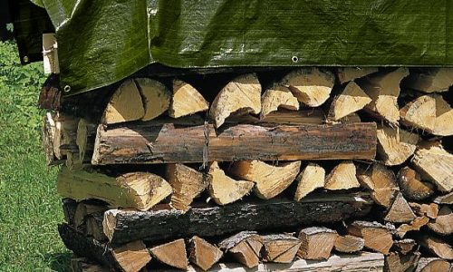 logs-tarp-green