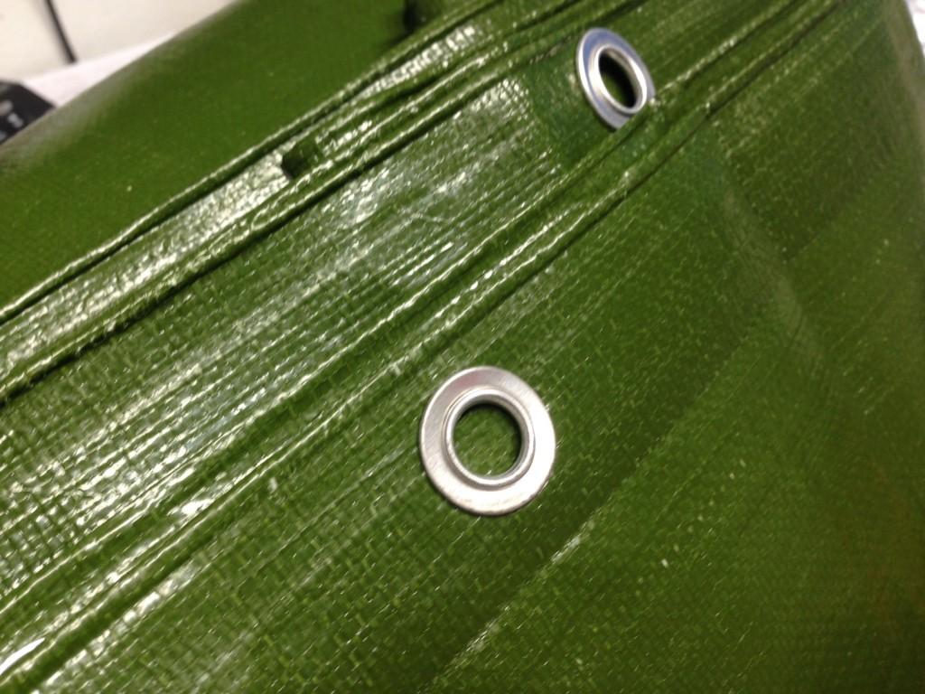 heavy duty tarpaulin green