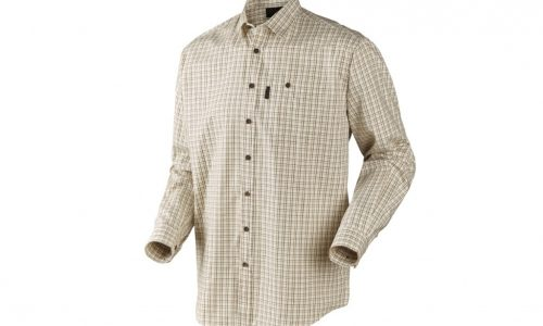 Seeland Preston Yellow Check Shirt