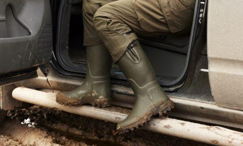 "Seeland Estate Lady - Vibram 16"" 5mm Neoprene Wellington Boots"