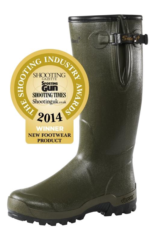 """Seeland Estate Vibram 18"""" 5mm Neoprene Wellington Boots"""