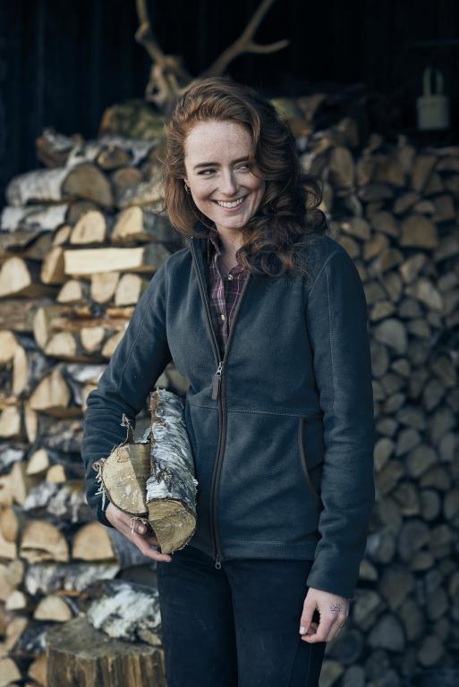 Seeland Bolton Lady Fleece - Carbon