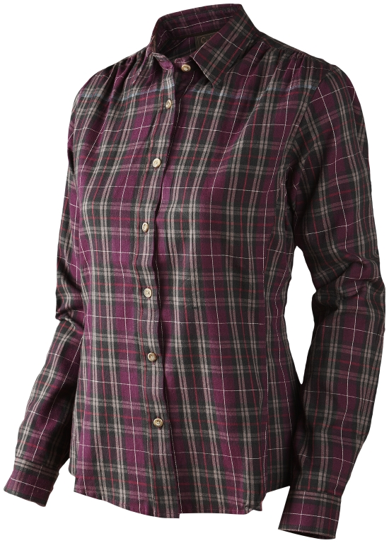 Seeland Pilton Lady Shirt Raisin Check