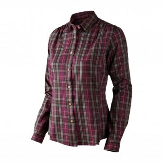 Seeland Pilton Lady Shirt – Raisin Check