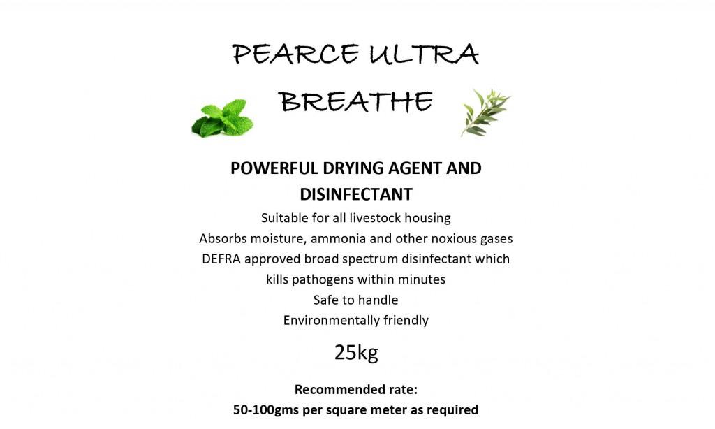 Pearce Ultra Breathe Disinfectant
