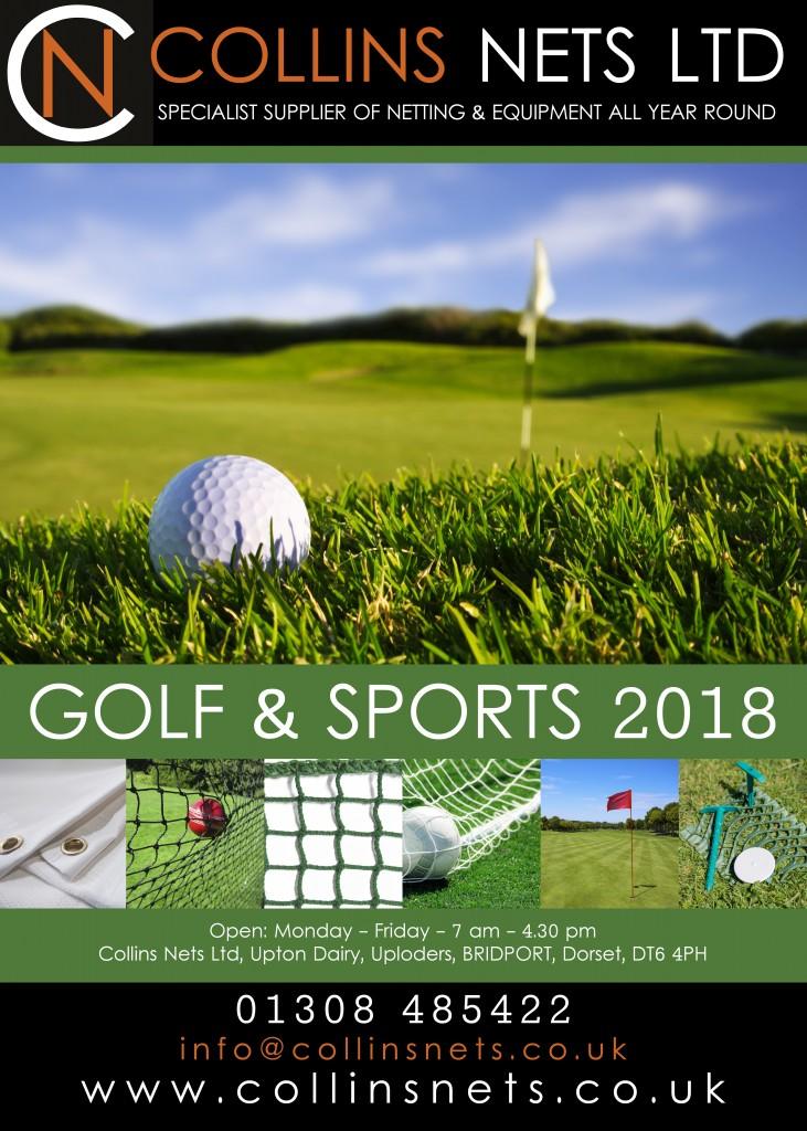 Collins Nets catalogue - golf & sports