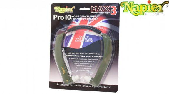 Napier Pro 10 Max 3 Hearing Protection