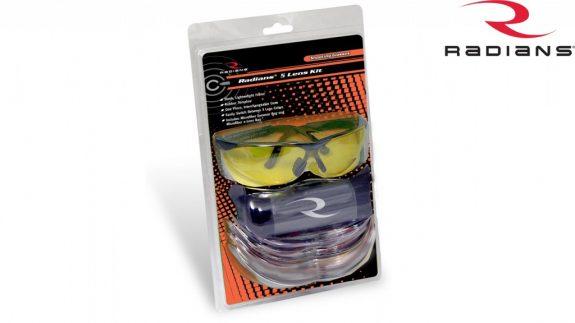Radians Safety Glasses 5 lens Kit