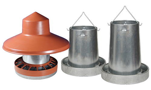 Eton Galvanised Metal Feeders