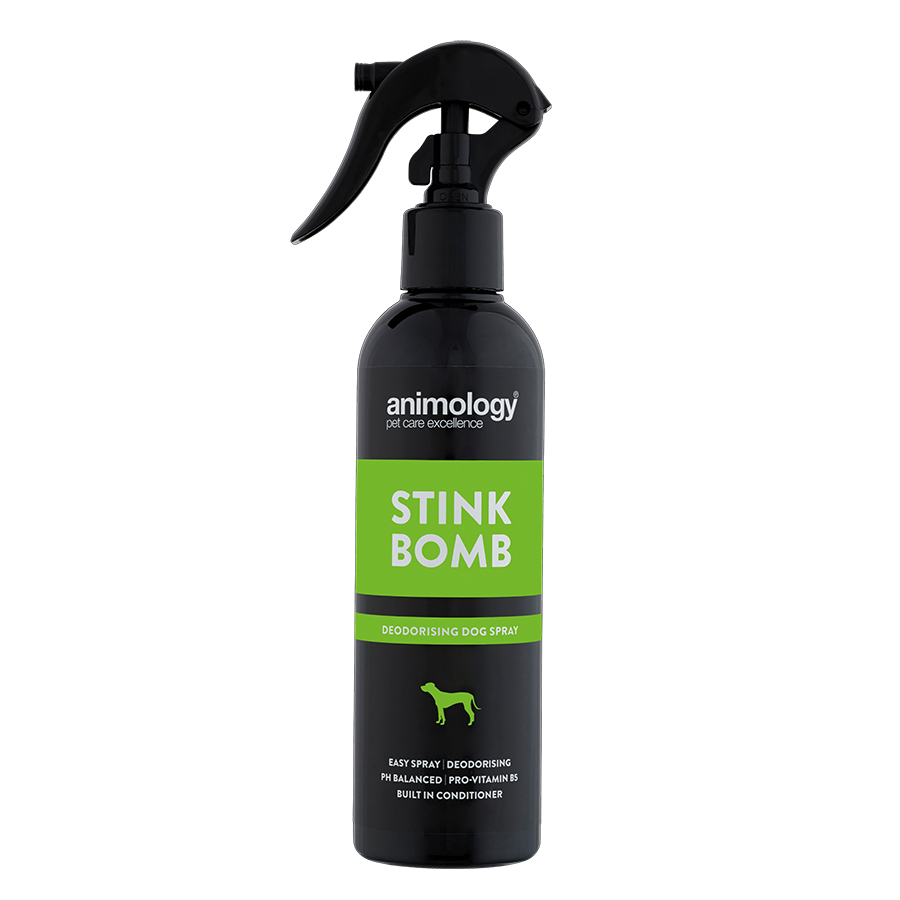 Stink Bomb Deodorising Dog Spray 250ml