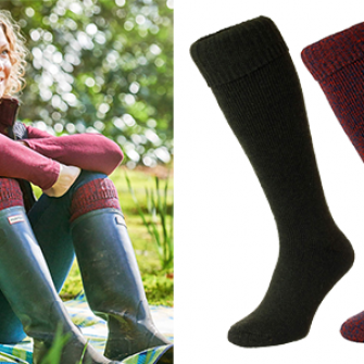 Wellington Boot Sock - HJ608
