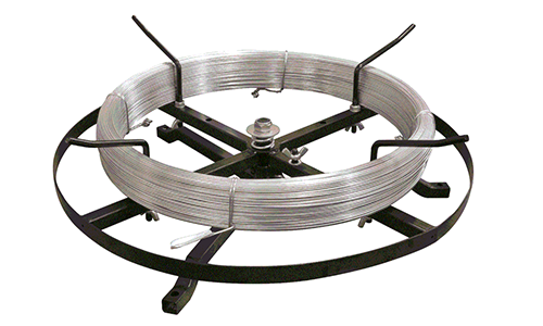 Spinning Jenny for Straining Wire