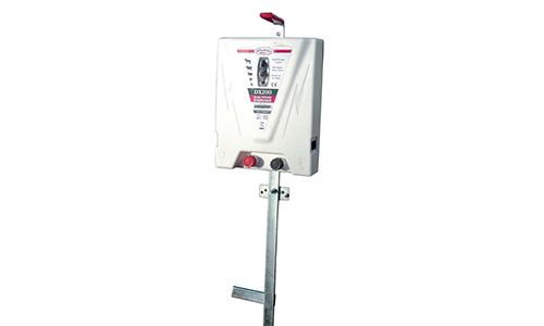 DX200 Dual Mains and 12v battery electric fencer
