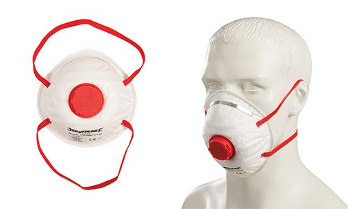 Moulded Valved Face Masks
