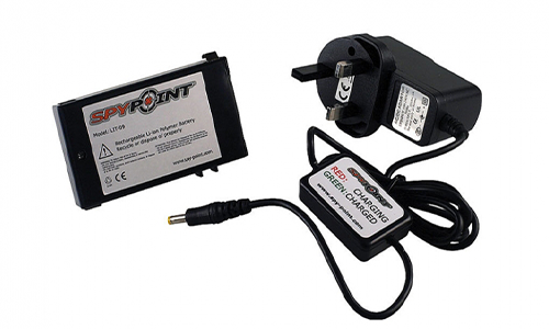 Spypoint Lithium Battery and charger