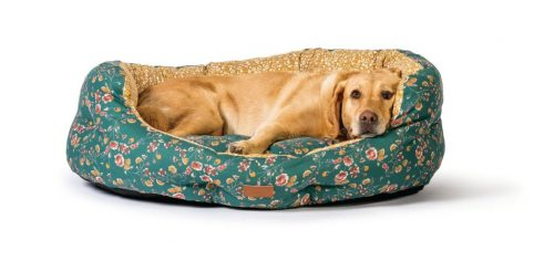 Fat Face Meadow Floral Dog Bed