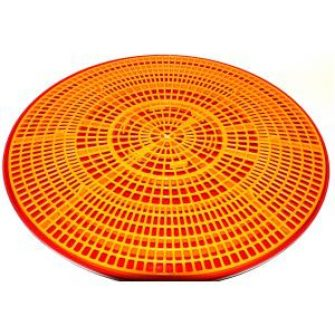 Well Being Yellow Grid and Drip Tray