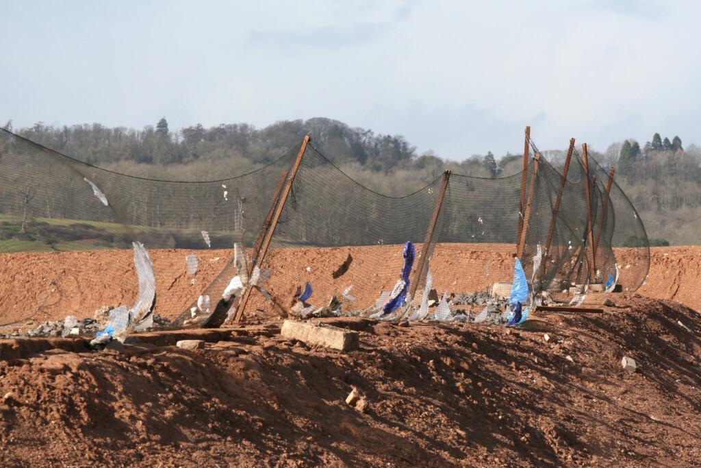 Heavy duty litter netting