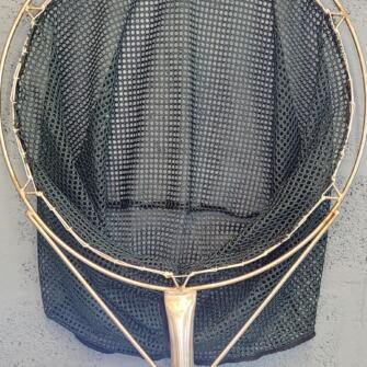 "SPECIAL OFFER 23½"" Round Frame Dip Net – Green Golf Mesh"